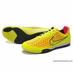 ee27f33fc63f Nike Magista Opus TF Fluorescent Green Red Black  61.99