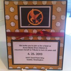 Hunger Games themed party