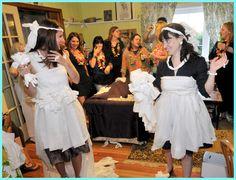 Make A Toilet Paper Wedding Dress At Bridal Shower