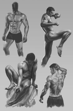 Exceptional Drawing The Human Figure Ideas. Staggering Drawing The Human Figure Ideas. Human Figure Drawing, Figure Sketching, Figure Drawing Reference, Guy Drawing, Man Anatomy, Anatomy Poses, Body Anatomy, Anatomy Sketches, Body Sketches