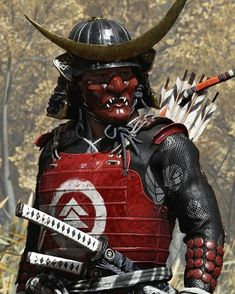 Manga Characters, Fantasy Characters, Wow Video, Samurai Artwork, Ancient Armor, Ghost Of Tsushima, Warrior Costume, Japanese Warrior, Videogames