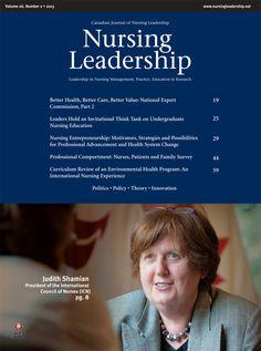 Nursing Leadership Vol. 26, No. 2 #nursecollab