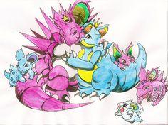 Steff's Pokemon Family by Baby-Lady-Rawr-x on deviantART