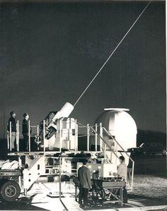 Nasa and lasers. 1960sumthin