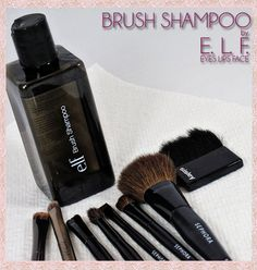 e.l.f. Cosmetics Brush Shampoo - GREAT value at just $3!    #makeup #beauty
