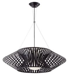 Planet Chrome and Black Possini Euro Pendant Chandelier - Euro Style Lighting