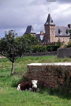 Ile-de-Batz, Brittany, France