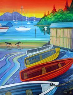 Sandspit Harbour by Irina Velman - Art Prints New Zealand Sand Pit, Wall Art For Sale, Spring Collection, New Zealand, Art Prints, Artist, Painting, Litter Box, Art Impressions