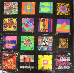 So, when you just don't feel like sewing, but you need a quilt, how about a duct-tape quilt???