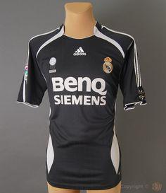 b393acbd2 Real Madrid Away Kit for 2006 2007 season Soccer Tips