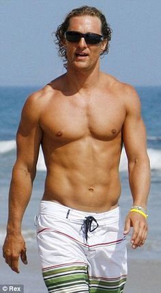 Matthew McConaughey looks severely emaciated as he takes weight ...