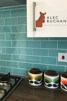 The bright, unique tiles you've been searching for! Alec Buchan - Glass tiles in the colours you love.