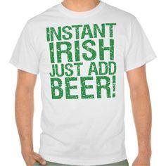 funny irish shirts | Funny Irish beer humour T Shirts