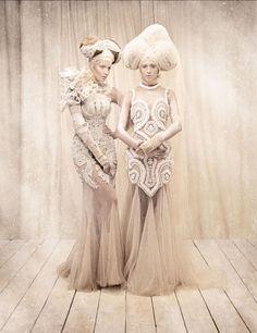 photography : Tina Patni  Make-up Ginno Alducente  Fashion: Amato Haute Couture