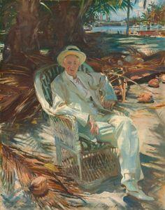 John Singer Sargent - Portrait of Charles Deering - 1917