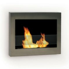 SoHo Indoor Fireplace Steel, $299, now featured on Fab.