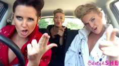 'Mime Through Time': Three Girls Dress Up in Costume and Lip-Sync a Century of Iconic Songs - https://magazine.dashburst.com/video/lip-sync-car-sketchshe/