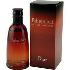 FAHRENHEIT by Christian Dior EDT SPRAY 1.7 OZ by Fahrenheit. $59.98. Recommended: daytime. Year Introduced: 1988. EDT SPRAY 1.7 OZ. Fragrance Notes: honeysuckle, sandalwood and balsam.. Launched by the design house of Christian Dior in 1988, FAHRENHEIT by Christian Dior for MEN posesses a blend of: honeysuckle, sandalwood and balsam. It is recommended for daytime wear.