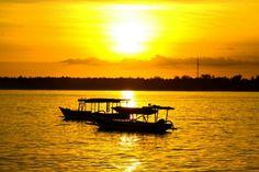 Sunset in Gili island Indonesia