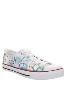 Meow meow, meow-meow-meow. Meow meow meow meow-meow-meow.Translation: Every kitty is unique, so are these sneakers. Each shoe will have distinct color variations.