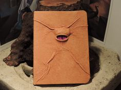 Mythical Beast Book Mini notebook Caramel by AbbotsHollowStudios, $19.95