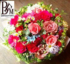 花ギフトのプレゼント【BFM】 明るい希望、そんな事を願ったフラワーアレンジメント