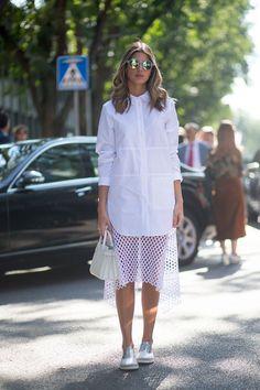 Molto Bella: Milan Street Style  - HarpersBAZAAR.com