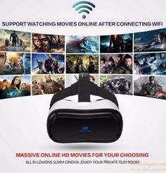 VR All in one with 360 degree camera 1080P immersive experience virtual reality…