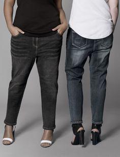 UNIVERSAL STANDARD - Sizes 10-28 - Seine Slouch Jeans - www.universalstandard.net - Plus Size Inclusive - 3