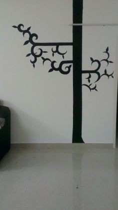 Painting my walls! Giving it a new definition for its existence!  :D
