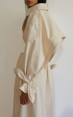 Organic Canvas Trench Coat by EDUN for Preorder on Moda Operandi