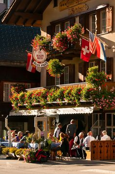 Grindelwald, Restaurant 'Alte Post' ~ Switzerland