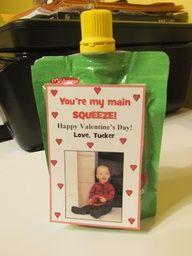Valentine idea for Toddler