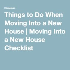 1000 Ideas About New House Checklist On Pinterest New