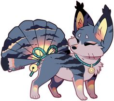 OMG! she already have a name, this is Akemi!! what a cute name! This custom is for hyruchewey, and this foxfan was based in the sunset, we're so glad you like it!! x3 Art (c) Akemi (c) ...
