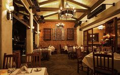 Bouchon Santa Barbara is a setting in the opening of Pushing Brilliance. Who wouldn't want to walk into that scene?