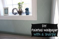 DIY Moroccan Tile Look with a White Sharpie! | Money Saving Sisters