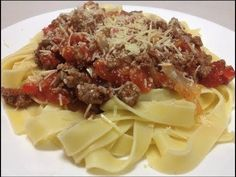 SPAGHETTI BOLOGNESE -  Low Fat Recipe
