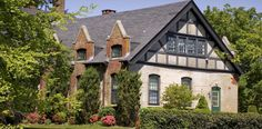 Salve Regina University Housing: Wallace Hall -- Tudor Revival cottage completed in accommodates 52 sophomore students University Housing, Hall House, Colleges, Tudor, Newport, Students, Cottage, Houses, English