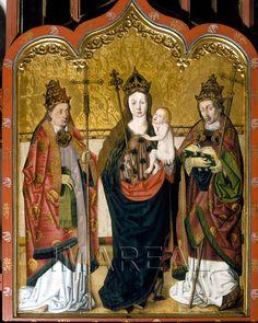 Hl. Maria mit Kind; Papst 1495-1505; Augsburg; Deutschland; Schwaben; Dom Mariae Heimsuchung http://tarvos.imareal.oeaw.ac.at/server/images/7016796.JPG