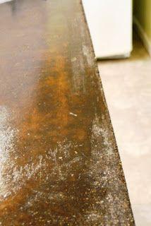 Salvage Savvy: Concrete Counter Top Tutorial