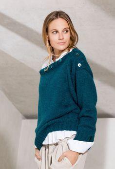 Delightful Lana Grossa PULLOVER Brigitte No. 2   DAS IST TREND 2017   Modell 17  