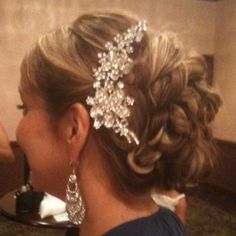 Wedding hair from Michele