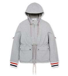Thom Browne hooded parka