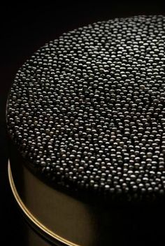 caviar is black food... what could be better..? not everyone likes it but I do... but of course hellishly expensive.. a treat.