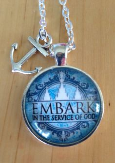 Embark in the Service of God Pendants - great gift for Young Women!