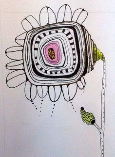 Travel Journal-Art Diary-Eclectic Design  Serafini Amelia  Flower, Diana Trout