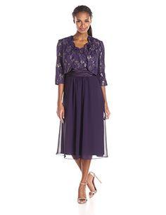 Le Bos Women's Scallop Lace Jacket and Chiffon Dress Set, Eggplant, 18 Le Bos http://www.amazon.com/dp/B016UTGP5S/ref=cm_sw_r_pi_dp_w5F6wb0QZ8D0R