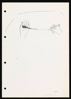 Helena Almeida 'Drawing (with pigment)', 1995–9 © Helena Almeida