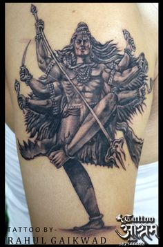 Lord Shiva Tattoo... #shivatattoo #lordshivatattoo #calmshiva #religioustattoo #religious #tattooartist #rahulgaikwad #tattooashram #navimumbai. Tattoos Pics, God Tattoos, Picture Tattoos, Tattoo Drawings, Yogi Tattoo, Mantra Tattoo, Buddha Tattoo Design, Shiva Tattoo Design, Mahadev Tattoo